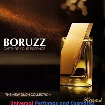 Boruzz Oudh Rooh Al Assam 50 ml Oriental Spray By Rasasi Perfumes
