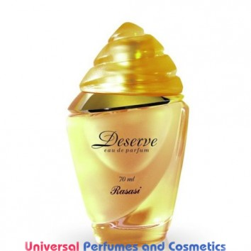 Deserve Feminine Eau De Parfum 70ml Occidental Finished Spray By Rasasi Perfumes