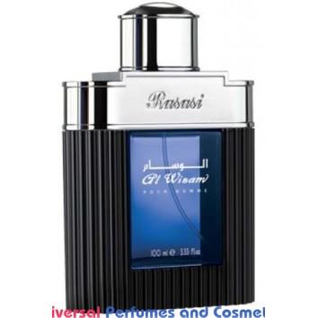 Al Wisam Evening Eau de Parfum 100 ml by Rasasi new in sealed box