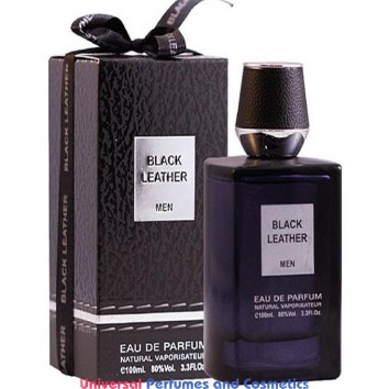 Black Leather by Fragrance World EDP For Men - 100ml new sealed box