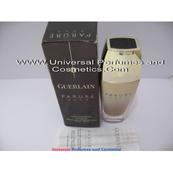 Guerlain Parure Aqua Radiant Feel Good Foundation #05 Beige Fonce  SPF20 Moisturising Mineral Enriched 30ml
