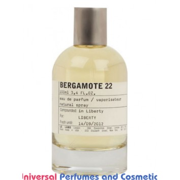 Our impression of Bergamote 22 Le Labo Unisex Perfume Oil (10010) Ultra Premium Grade Luz