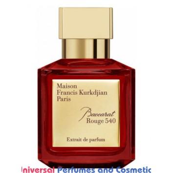 Our impression of Baccarat Rouge 540 Extrait de Parfum Maison Francis Kurkdjian Unisex Perfume Oil (10041) Ultra Premium Grade Luz