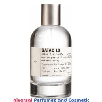 Our impression of Gaiac 10 Tokyo Le Labo Unisex Perfume Oil (10052) Ultra Premium Grade