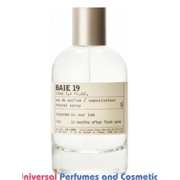 Our impression of Le Labo - Baie 19 Unisex - Niche Perfume Oils - Ultra Premium Grade (10080)