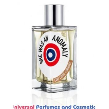 Our impression of  She Was An Anomaly Etat Libre d'Orange  unisex Perfume Oil (10109) Ultra Premium Grade