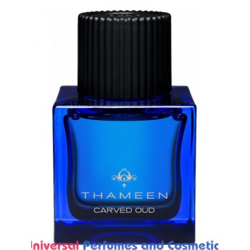 Our impression of Carved Oud Thameen Unisex Ultra Premium Perfume Oil (10242)