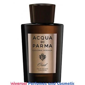 Our impression of Colonia Intensa Oud Eau de Cologne Concentree Acqua di Parma for Men Ultra Premium Perfume Oil (10306)