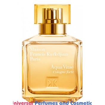 Our impression of Aqua Vitae Cologne Forte Maison Francis Kurkdjian Unisex Ultra Premium Perfume Oil (10363)