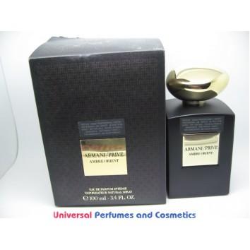 ARMANI PRIVE AMBRE ORIENT EAU DE PARFUM 100ML TESTER IN FACTRY BOX $199.99