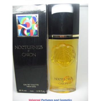 Nocturnes De Caron EDT Natural Spray Perfume 3.38 Fl.Oz Vintage Rare hard To Find $69.99