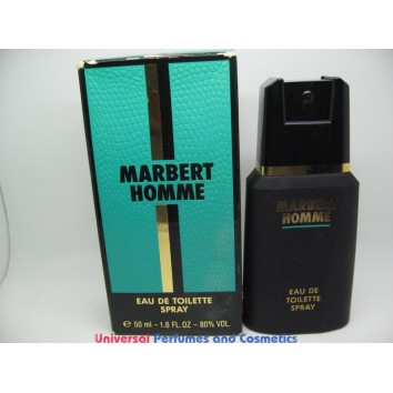 MARBERT HOMME 50ml/1.7oz EAU DE TOILETTE SPRAY RARE HARD TO FIND DISCONTINUED ONLY $49.99