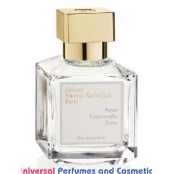 Aqua Universalis Forte Maison Francis Kurkdjian Unisex Concentrated Premium Perfume Oil (05264) Luzi