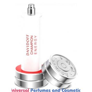 Champion Energy Davidoff for Men Concentrated Premium Perfume Oil (005402) Luzi