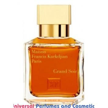 Our impression of Grand Soir Maison Francis Kurkdjian Unisex Concentrated Premium Perfume Oil (0061467) Premium