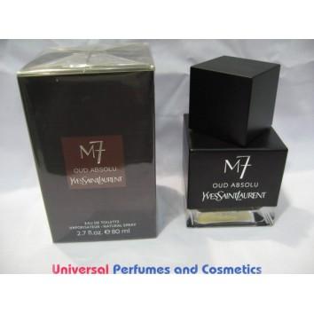 Yves Saint Laurent La Collection M7 Oud Absolu EDT Spray 80ml MEN Perfume