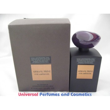 ARMANI PRIVE CUIR AMETHYSTE EAU DE PARFUM 100ML TESTER IN FACTRY BOX $189.99