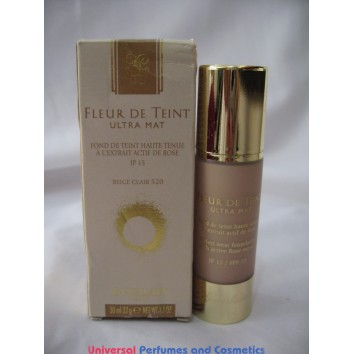 Guerlain Fleur De Teint Ultra Mat Perfect Wear Foundation with Active Rose Extract SPF 15  520 Beige CLAIR  FOR ONLY  $19.99 @ UPAC