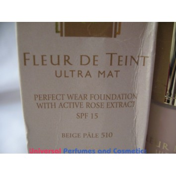 Guerlain Fleur De Teint Ultra Mat Perfect Wear Foundation with Active Rose Extract SPF 15  510 Beige PALE  FOR ONLY  $19.99 @ UPAC