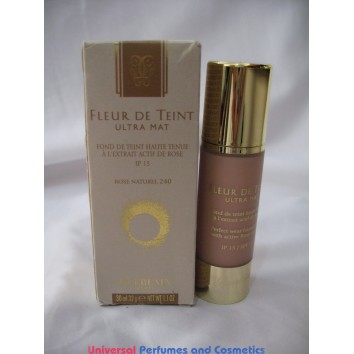 Guerlain Fleur De Teint Ultra Mat Perfect Wear Foundation with Active Rose Extract SPF 15  240 ROSE NATUREL  FOR ONLY  $19.99 @ UPAC