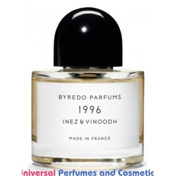 1996 Inez & Vinoodh Byredo Unisex Concentrated Premium Perfume Oil (008073) PREMIUM