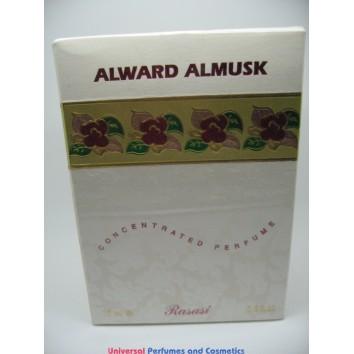 ALWARD ALMUSK الورد المسك BY RASASI 15ML CONCENTRATED PERFUME NEW IN SEALED BOX ONLY $25.99