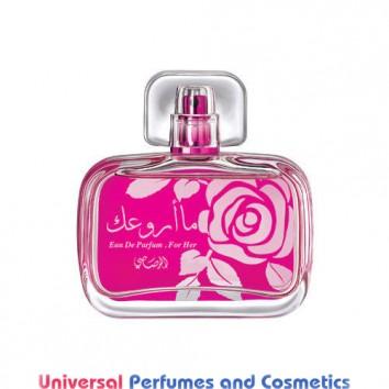 Maa Arwaak (Women) 50 ml Oriental Arabic French Spray By Rasasi Perfumes