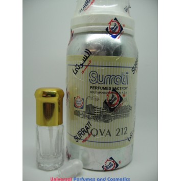 AQVA 212 BY SURRATI AKA 100G CONCENTRATED OIL PERFUME