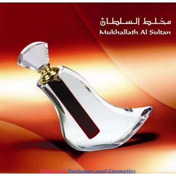 Mukhallath Al Sultan 40ml Conce. Oil By Al Haramain With (Free Express Shipping)