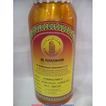 AMBER -960 BY AL HARAMAIN PERFUMES 500G CONCENTRATED OIL N#12 ONLY $459.99